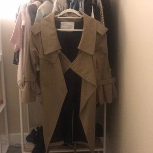 Zara trench coat size S